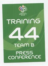 Orig.Ticket   WM Deutschland 2006   KROATIEN - AUSTRALIEN / Pressekonferenz  !!