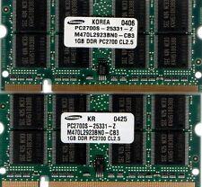 2GB 2x 1GB HP Pavilion ZD7000/ZE2000/ZE4000/ZT3000/ZV5000/ZV6000/ZX5000 Memory