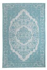 Tapis bleu rectangulaire pour la maison, 200 cm x 200 cm
