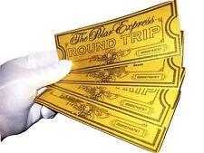 Polar Express Tickets Believe Ticket. Great Christmas Gift x 2 Christmas Fun