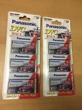 Panasonic 3Pack DVC Mini DV 60 Min Tapes / AY-DVM60KS3B X 2
