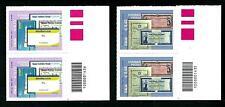 Italia Repubblica 2011 - Risparmio Postale - coppie con codice a barre
