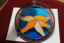 Starfish Fish Sea Star 9in. Hand-Crafted Stained Glass Suncatcher Decoration