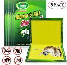 Mouse Board Sticky Mice Glue Trap 5 PCS High Effective Rodent Rat Snake Bugs
