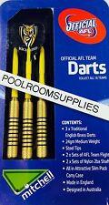Licensed AFL Aussie Rules RICHMOND TIGERS Darts Set includes 6 Flights