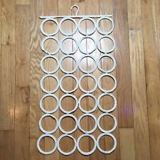 28 Ring Multi Purpose Tie Belt Scarf Hanger