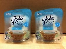 2 NEW GLADE PLUGINS SCENTED OIL REFILLS AIR FRESHENER CLEAN LENEN Total 4 Refill