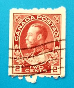 Canada stamp Scott #124 used, well centered with nice postmark. Good margins.