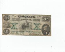 VIRGINIA  $10  1862