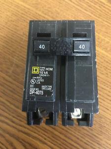 HOM240  SquareD breaker new