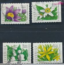 Sweden 2459BC-2462BC gestanzt 6 1/2 fine used / cancelled 2005 Flowers (8731952