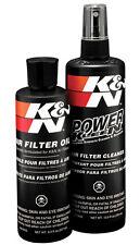 99-5050 K&N AIR FILTER CLEANER OLIO Caricabatteria Kit di servizio K ed N POWER Kleen