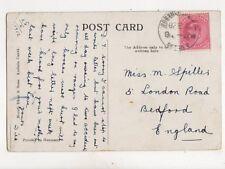Miss M Spiller London Road Bedford 1912 278b