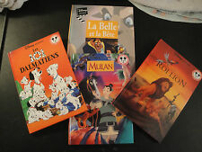 Lot de 4 Livres Disney