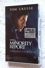 MINORITY REPORT (DVD, 2 DISC SET), R-4, LIKE NEW(DISCS: NEW), FREE SHIPPING
