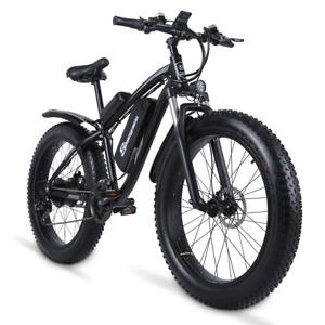 Electric Bike 1000W 48V Men's Mountain Ebike Snow Bike 4.0Fat Tyre Electric Bike