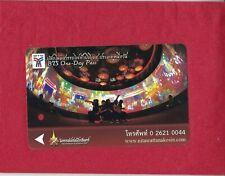 Thailand - Bangkok - Skytrain - Schwebebahn - Ticket -  Stra?enbahn