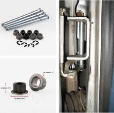 Metal Door Hinge Pin Upper Lower Bushing Lock Kit for Chevy GMC 1988-2002 2 DOOR