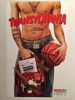 TRANSYLMANIA - 11x17 Original Promo Movie Poster MINT