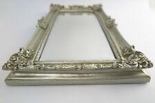 Mirror Silver 49 x 29 Baroque MAGNIFICENT FRAME ART NOUVEAU