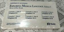 Exploring Medical Language Audio Tapes Cassettes, Edition 5