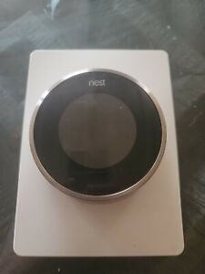 Nest 01A 1st Generation Learning Programmable Thermostat - Silver