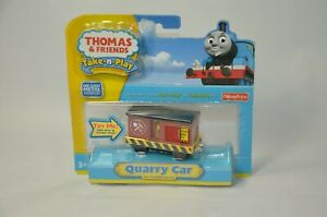 LOT 2 Thomas and Friends Die Cast TAKE N PLAY RARE QUARRY CAR & SODOR SUPPLY CO