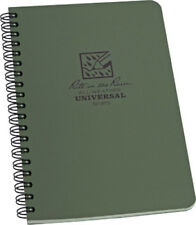 Rite in the Rain Pen New Side Spiral Notebook Green 973