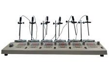 Techtongda 110v 6 Heads Laboratory Digital Magnetic Stirrer With Hotplate