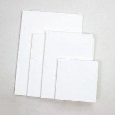 PLAIN WHITE CHUNKY BOARD BOOKS ALL BLANK TO SELF ILLUSTRATE 11X8 (6) PGS.