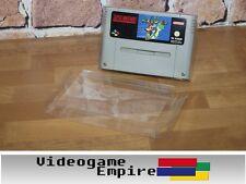 5x Super Nintendo (SNES) Cartridge Schutzhüllen / Hüllen