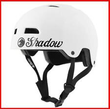 SHADOW CONSPIRACY CLASSIC HELMET ADULT 2XL BMX BIKE BICYCLE GLOSS WHITE NEW