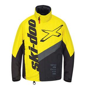 Ski-Doo X-Team Snowmobile Jacket Sunburst Yellow 440863