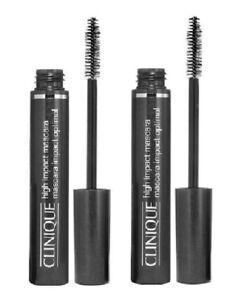 Clinique High Impact Volumizing Thickening Mascara - 3.5 gr x 2 - New - 01 Black