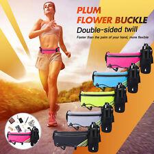 Running Belt Jogging Cycling Waist Pack Pouch Sports Water Bottle Holder Reflect