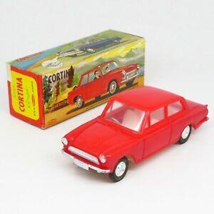 Mak's Hong Kong - Ford Cortina Coupe - Plastic Friction Boxed Vintage Telsalda