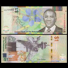 Bahamas 1 Dollar, 2017, P-NEW, A prefix, New design, UNC