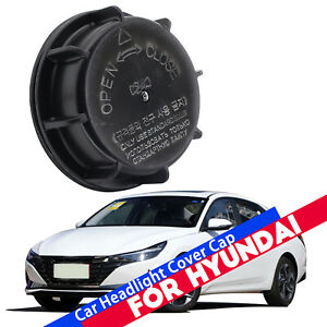 Genuine Headlight Dust Cap Lamp Bulb Cover Optima Sonata Rio For Hyundai Kia