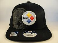 Pittsburgh Steelers NFL Reebok Flex Hat Cap Size S/M Black