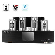 Vacuum Powerful Tube Stereo Amplifier AUX Bluetooth Input Audio HIFI AMP 220V