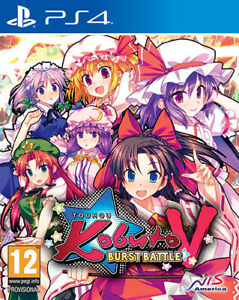 Touhou Kobuto V Burst Battle PS4 PLAYSTATION 4 Nis America