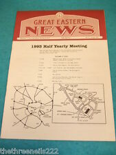 GREAT EASTERN NEWS # 76 - AUTUMN 1993