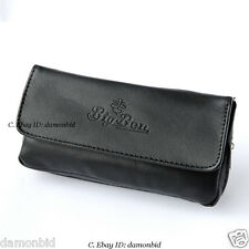 Black Soft Smoking Pipe Case Tobacco Bag Pouch Tamper Filter Tool Cleaner fine