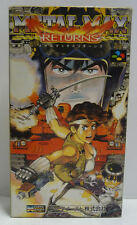 METAL MAX RETURNS  SUPER FAMICOM NINTENDO SFC SNES RARE