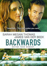Backwards (DVD, 2012) Jmaes Van Der Beek   Rowing Rwers  BRAND NEW