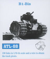 1/35 ATL88 FreeShip FRIULMODEL TRACKS for CHAR B1 BIS TAMIYA  35282 & 35287 Kits
