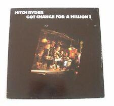 "Mitch RYDER ""Got change for a million ?"" (Vinyle 33t / LP) 1981"