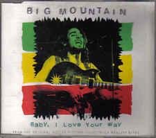Big Mountain- baby i love your way  cd maxi single
