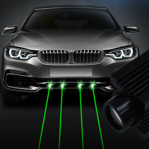 1x Car Truck LED Laser Fog Light Projector Anti-Collision Tail Warning Lamp