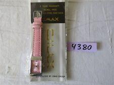 CMAX Crystal Quartz Damenuhr Armbanduhr Uhr nickelfrei WATERPROOF rosa
